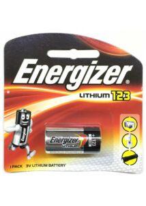 Energizer CR123 lithium elem