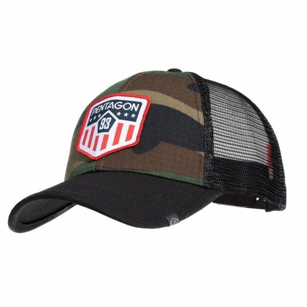 Pentagon Era Trucker Baseball sapka -US Woodland