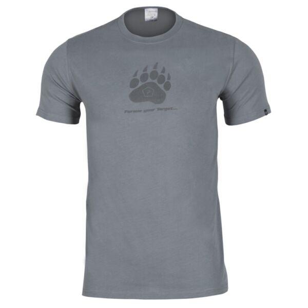 Pentagon K09005 Ring Spun póló medve szürke