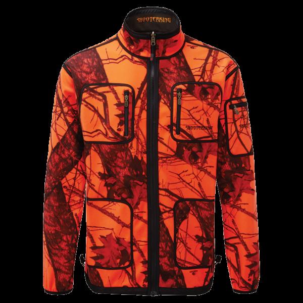 Shooterking D1212 Mossy Blaze Orange kifordítható softshell kabát