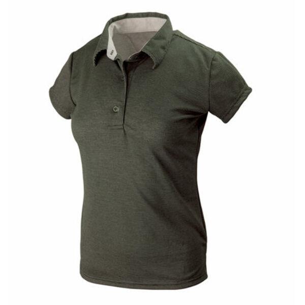 Tagart Hals sötét zöld női ing
