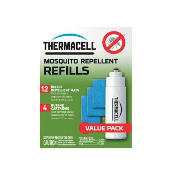 Thermacell szúnyogriasztó utántöltő szett (48órás)